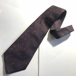 Garrick Anderson Vintage Boho Gypsy Paisley Tie